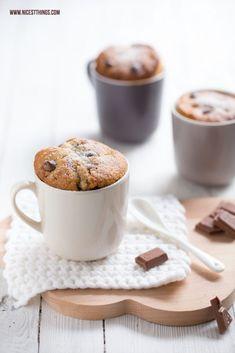 Chai chocolate mug cake // in german