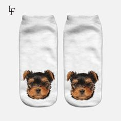 Men's Socks New 3d Printed Cartoon Animals Lion Crew Socks Men Funny Tiger Dog Long Socks Lovely Cute Trend Street Corgi Tube Socks Promoting Health And Curing Diseases