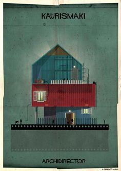 Yönetmenler Mimar olsaydı yaptıkları evler nasıl olurdu?  Aki Kaurismaki