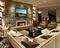 Furnished Basement | Beautiful Homes Design