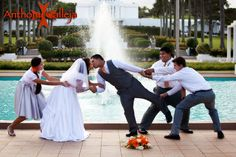 Hawaii wedding photography - Laie LDS Temple wedding - photographed at the Laie Oahu Hawaii