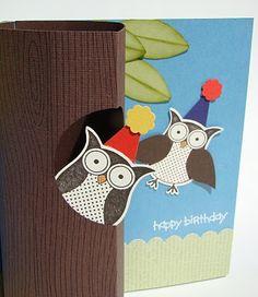 Owl Pop-Up Card