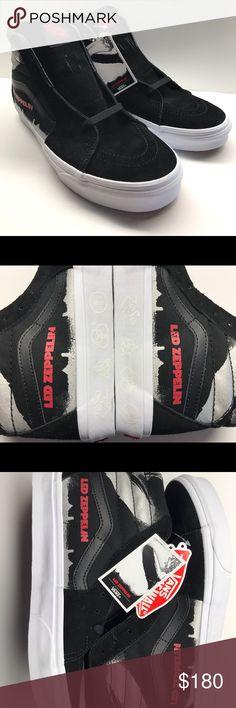 88c1ffcb93 Vans X Led Zeppelin SK8-HI Limited Edition shoes Vans X Led Zeppelin SK8-