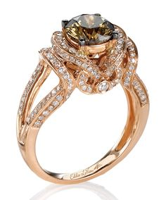 Le Vian® Choclate Diamonds® and Vanilla Diamonds® in Strawberry Gold®