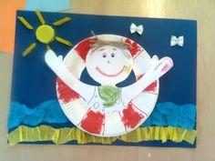 Przedszkolne inspiracje: Bezpieczne wakacje Art Boxes, Box Art, Kids Boxing, Origami, Education, Diy, Bricolage, Origami Paper, Do It Yourself