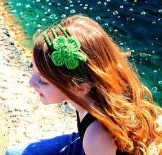 Pattern Shamrock Headband 4 Leaf Clover  PDF  st by PurdyThings