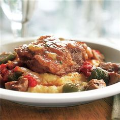 Chicken Cacciatore with Polenta Image