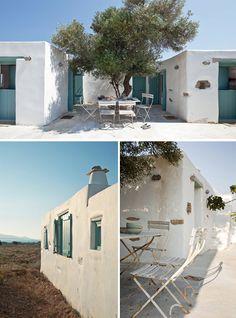 summer house on Antiparos, an island in Greece