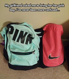 It obviously the pink one