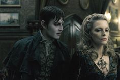 Johnny Depp as Barnabas Collins & Michelle Pfeiffer as Elizabeth Collins Stoddard in Dark Shadows ~ Colleen Atwood, Michelle Pfeiffer, Johnny Depp Dark Shadows, Dark Shadows Movie, Tim Burton, Shadow Images, Shadow Photos, Jonny Lee Miller, Helena Bonham Carter