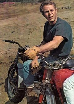 """Page dedicated to Steve """"The King of Cool"""" McQueen"""