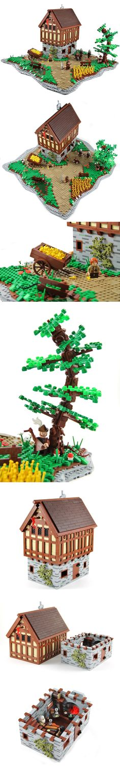 The Old Oak Inn #LEGO #Inn
