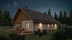 Projekt domu Murator C333u Miarodajny - wariant XVIII 99,20 m² - koszt budowy - EXTRADOM 20 M2, Home Fashion, Vogue, Cabin, House Styles, Home Decor, Decoration Home, Room Decor, Cabins