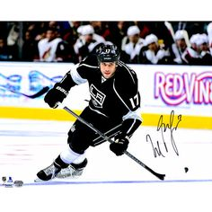 """Milan Lucic Los Angeles Kings Fanatics Authentic Autographed 16"""" x 20"""" Black Jersey Skating Photograph - $69.99"""