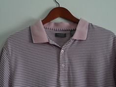 zod Polo Shirt Mens Size Large Pink w/Gray Short Sleeve  #Shopping #Style #Fashion http://www.ebay.com/itm/-/281374930032?roken=cUgayN via @eBay