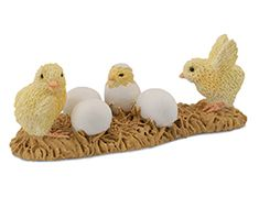 Strong-Willed Chick Hatch 5 Cm Barnyard Collecta 88480 Action Figures