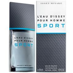 L'Eau d'Issey Pour Homme Sport Issey Miyake cologne - a fragrance for men 2012 Best Fragrance For Men, Best Fragrances, Aftershave, Sephora, Issey Miyake Men, Fragrance Samples, Cosmetics & Perfume, Best Perfume, Perfume Fragrance