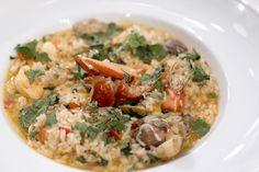 Arroz de ameijoas, camarões e lavagante - Chefs Academy 2014
