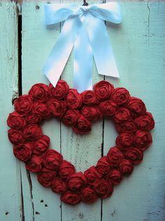 My Valentine wreath!!!