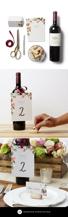 [ad] Looking for a way to make your wedding stand out? Add a special touch to your reception tables with personalized DIY place cards. Your wedding guests will love the little detail and feel even more a part of your special day.