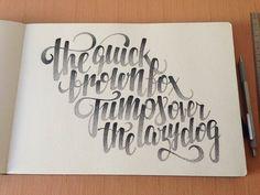 Hand Lettering – Superbes typographies de Xavier Casalta