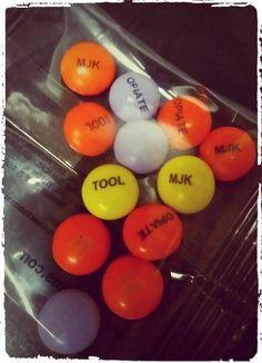 Custom Tool M&M's #mandms #mandmscandy #mandmworld #mms #custommandms #candy #colorbuttons #tool #mjk #opiate #toolband #toolbandmemes