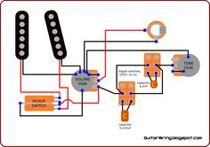 the guitar wiring blog diagrams and tips george lynch s guitar rh pinterest com Guitar Pickup Wiring Modifications Ibanez Guitar Pickup Wiring