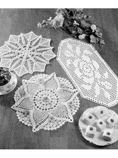 Dazzling Doilies free pattern