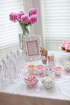 Sweet Treat Pink Ice Cream Themed Baby Shower for This Girl