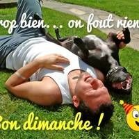 Trop bien... on fout rien :)... Sports, Sunday Coffee, Sunday Humor, Happy Sunday, Hapy Day, Good Night, Handsome Quotes, Hs Sports, Sport