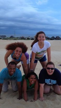 #OuterBanksBlue #PinterestContest Outer Banks vacation.   Always having fun on the Dunes