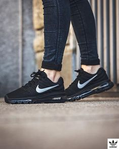 best service fab0a db924 Nike Air Max 2017  Black White-Anthracite Nike Shoes Women 2017, Mens