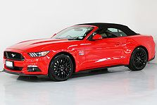 Race Red 2016 Ford Mustang Convertible