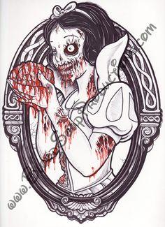 Zombie Princesses - Snow White