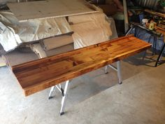 Bar Top   Varnished With Cabots Marine Grade Exterior Varnish | Bar/Workbench  | Pinterest | Varnishes