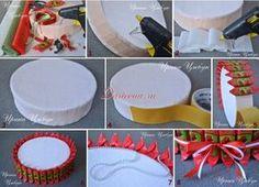 Основа конфетного торта