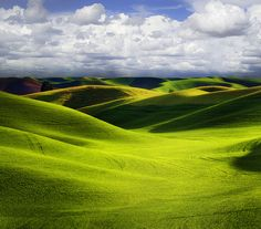 Storm A Brewing Over The Palouse - Washington State
