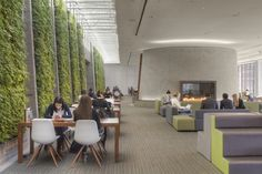 | Student Center at Georgetown University / ikon.5 architects | Natural Bio-Friendly Character. |