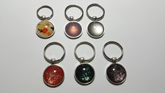 Several keychains Made by Alexandra Reiner - etsy shop 'Chest of Beads' Keychains, I Shop, Etsy Shop, Personalized Items, Beads, Shopping, Jewelry, Key Hangers, Beading