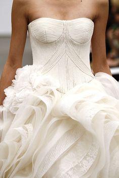 Vera Wang Fall 2013 Bridal. PInk Paisley Events loves this!