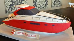 Looking fantastic! Super #Yacht #Cake! We love and had to share! Great #CakeDecorating! The Yacht ~ Fancy Cakes by Lauren