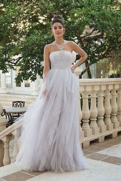 f077612c596 Sincerity Bridal - Style 44106  Beaded Jewel Neck Ruffle A-line Gown