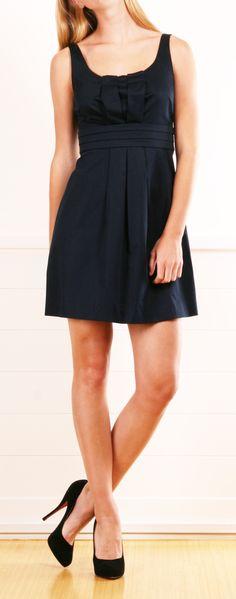 Moschino Cheap & Chic Navy Dress