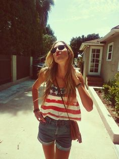 26 Amazing Outfit Ideas for 4th of July Clothes Casual Outift