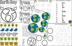 The Intentional Momma: Earth Day Printable Unit for Pre-K and ...