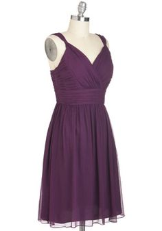 Plum-thing Special Dress, #ModCloth