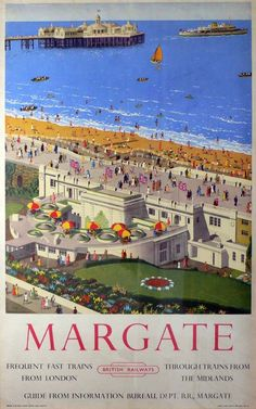 Margate British Railways poster