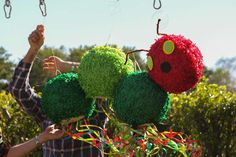 A Very Hungry Caterpillar First Birthday Birthday Party Ideas | Photo 8 of 10 | Catch My Party