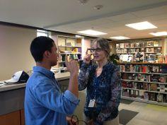 Jazeker, de Google Glass wordt ook al in de bibliotheek gebruikt. Nu nog structureel, dit was 'slechts' een experiment.