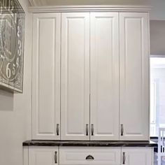 Kitchen Cabinet Door Styles, Kitchen Pantry Design, Modern Kitchen Design, Home Decor Kitchen, Interior Design Kitchen, Kitchen Furniture, Kitchen Storage, Tall Kitchen Cabinets, Dark Cabinets